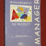 Carte Management - DENNIS LOCK - MANAGEMENT DE PROIECT