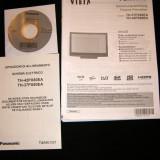 Manual auto - Manual de instructiuni si schita electronica Panasonic Viera TH-37PX80EA si TH-42PX80EA