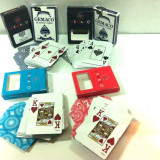 Carti poker - Carti de joc plastifiate Gemaco / Absolut nou
