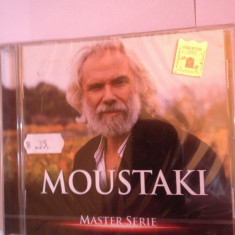 GEORGE MOUSTAKI - BEST OF (MASTER SERIE)-(2003/UNIVERSAL MUSIC) - cd nou/sigilat - Muzica Pop universal records