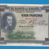 3. Spania 100 pesetas 1925