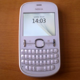 Nokia Asha 201 - Telefon Nokia, Alb, <1GB, Neblocat, Fara procesor, 32 MB
