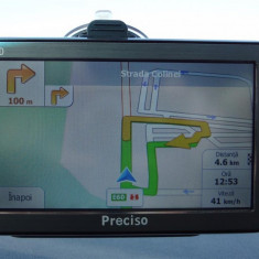 GPS NAVIGATII Preciso HD 5