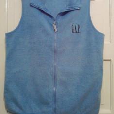 Vesta polar / fleece dama, firma GAP, marimea L - Vesta dama Gap, Marime: L, Culoare: Albastru