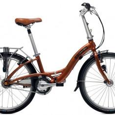 Vand bicicleta pliabila dahon glide p8 - Bicicleta pliabile Dahon, 24 inch, Numar viteze: 7, Aluminiu, Caramiziu, 105 kg
