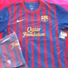 Tricou original NIKE FC Barcelona home jersey, 100% originale - Tricou barbati Nike, Maneca scurta, Poliester
