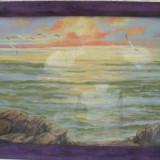 Tablou, pictat ulei pe panza, MARINA 13 - Pictor roman