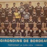 Foto echipa de fotbal BORDEAUX `88-`89