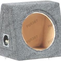 Carcasa difuzor, subwoofer, MDF, capacitate 15L, pentru difuzor de 250mm. - 000870