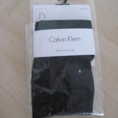 Ciorapi din dres Calvin Klein, CK, lungime pana la genunchi, 100% originali, autentici, import SUA - Sosete dama Calvin Klein, Culoare: Negru