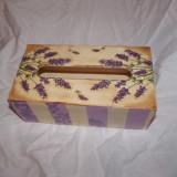 Handmade - Suport pentru servetele lucrat manual