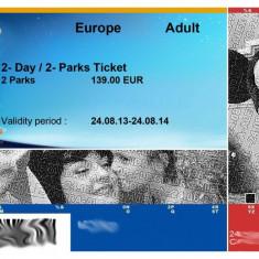 Bilete la Disneyland Paris 2- Zile / 2- Parcuri / Bilet pentru 1 Adult & 1 Copil (2 bilete in total)