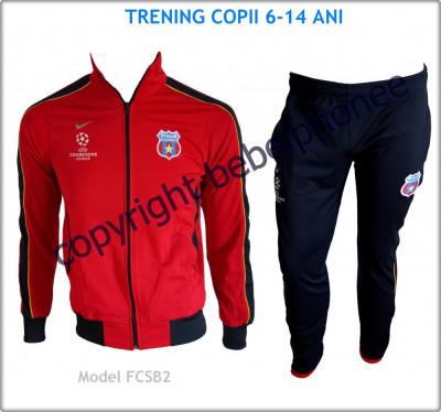 Trening Treninguri COPII 6 - 14 ANI - NIKE - STEAUA BUCURESTI - UEFA Champions League - Bluza si Pantaloni conici - LIVRARE GRATUITA - Model nou 2013 foto
