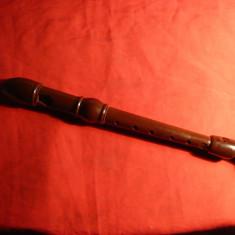 Flaut Anglia anii '50, bachelita Dolmestch Dolomite Descant Recorder