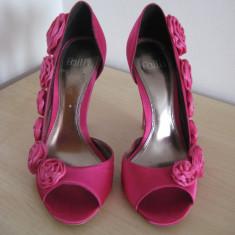 Pantofi marimea 38 FAITH pentru ocazii/evenimente/cununie/nunta, adusi din UK, culoarea fuchsia / roz - Pantofi dama