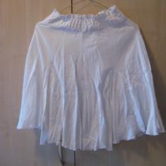 Fusta Dama, GUESS Jeans, culoarea alb, marimea XS, 100% originala, autentica, import SUA