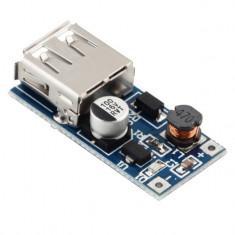 Incarcator USB 0.9V-5V to 5V DC-DC Booster Module USB Mobile Step-up
