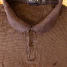 Tricou Nautica Made in Canada; marime L: 54 cm bust, 63.5 cm lungime - Tricou barbati Nautica, Marime: L, Culoare: Din imagine