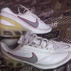 ADIDASI NIKE - Adidasi barbati Nike, Marime: 42.5, Culoare: Alb, Piele naturala
