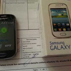 Telefon mobil Samsung Galaxy Fame, Argintiu - Samsung Galaxy Fame Nou + Garantie 2ani 470Ron