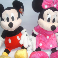 Plus Minnie si Mickey - Mickey Mouse si Minie din plus DIN CLUB HOUSE MICKEY muzicali set de 2 bucati