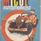 Carte de colorat Micul Automobilist - ( include cateva indicatoare rutiere si explicatiile lor pe intelesul celor mici)