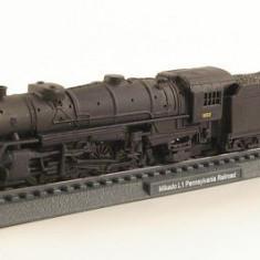 Macheta Feroviara - 1022.Macheta locomotiva Mikado Pennsylvania scara 1:160
