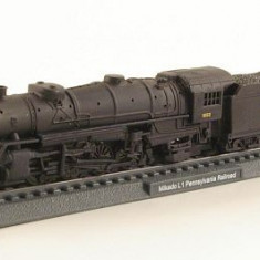 Macheta locomotiva Mikado Pennsylvania scara 1:160 - Macheta Feroviara, N, Locomotive
