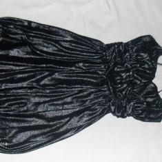 Rochie de ocazie - Rochie banchet, Culoare: Nero, Marime: 40, Argintiu, Marime: 38, Scurta