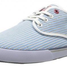 Adidasi US Polo Assn Hugh originali - tenisi barbati - adidasi originali - panza - in cutie - 42, Culoare: Bleu, Textil