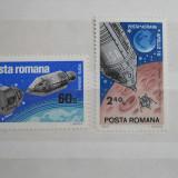 Timbre Romania, Nestampilat - 1969 Apollo 9 si 10 LP702 0425