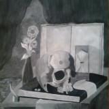 Tablou - Craniu - Reproducere, Peisaje