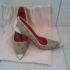 Pantofi dama Cesare Paciotti, Marime: 37, Bej - Pantofi Cesare Paciotti