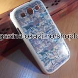 Husa Samsung Galaxy s3 i9300 hard model unicat elegant 2015 + FOLIE ecran **LIVRARE GRATUITA !! - Husa Telefon Samsung, Alb, Plastic