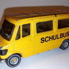 Macheta SIKU- MERCEDES schulbus - 1983 - Macheta auto Siku, 1:64