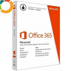 MICROSOFT OFFICE 365 PERSONAL - Software utilitar