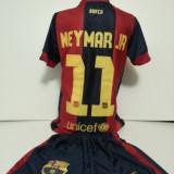 ECHIPAMENTE SPORTIVE COPII FC. BARCELONA NEYMAR JR COMPLEU marimea 176