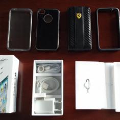 Cutie si huse Iphone 4S alb - Husa Telefon Apple, iPhone 4/4S
