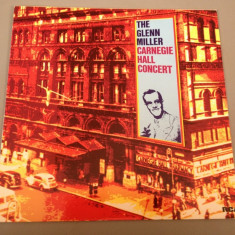 THE GLENN MILLER -CARNAGIE HALL CONCERT (1958/1983 -RCA REC/ RFG) - VINIL/VINYL - Muzica Rock rca records