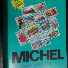 Catalog timbre-Michel Insulele Karaibe-2000 - alb negru - Foarte bine intretinut