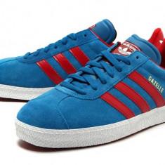 Adidasi barbati, Piele intoarsa - Adidas Originals GAZELLE II Leather Piele 100% Livrare Gratuita vara superstar