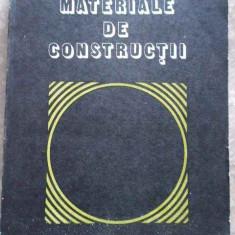Materiale De Constructii - C.bob P.velica, 276344 - Carti Constructii