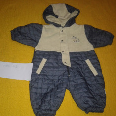 Haine Copii 0 - 6 luni - Bebe 13 salopeta de exterior din fas cu material plusat- mar. 62