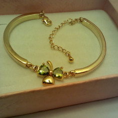 Bratara Dama Deosebita Placata Aur 14K cu Livrare Gratuita - Bratara placate cu aur
