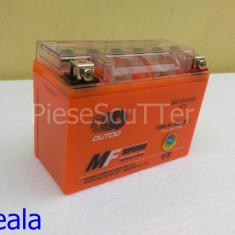 Acumulatori Moto - Baterie / acumulator Moto Scuter / ATV 12v ( volti ) 6.5A ( amperi ) 12 v 6.5 A ( GEL ) ( L-13.5 / l-6.5 / H-10 )