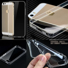 Husa iPhone 4 4S TPU Ultra Thin 0.3mm Purple, Mov, Gel TPU, Carcasa, Fara snur