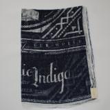 Esarfa Indigo GUESS Logo Scarf