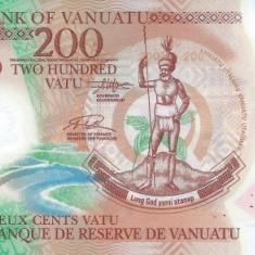 Vanuatu 200 Vatu 2014 (polimer) P-New UNC !!!