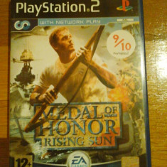 JOC PS2 MEDAL OF HONOR RISING SUN ORIGINAL PAL / STOC REAL / by DARK WADDER - Jocuri PS2 Electronic Arts, Shooting, 12+, Multiplayer