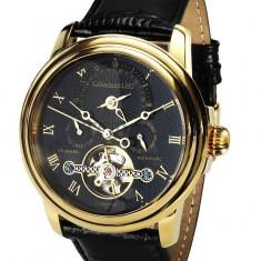 Ceas de lux Calvaneo 1583 Evidence Gold Black 2, original, nou, cu factura si garantie! - Ceas barbatesc Calvaneo, Mecanic-Automatic
